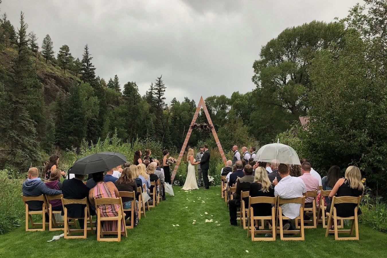 wedding in summit county